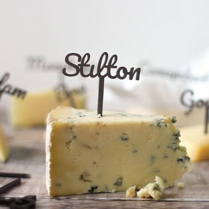 Personalised Cheese Marker