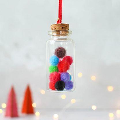 Pompom Christmas Decoration