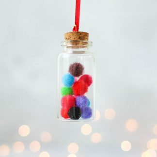 Pompom Christmas Decoration