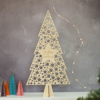 Christmas Tree, Star Cutout