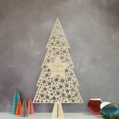 Christmas Tree, Star Cutout
