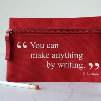 Pencil Case, Cs Lewis Quote