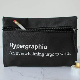 Hypergraphia Pencil Case