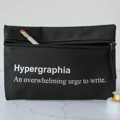 Hypergraphia Pencil Case