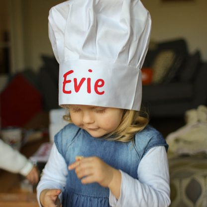 Personalised Child's Chef Hat