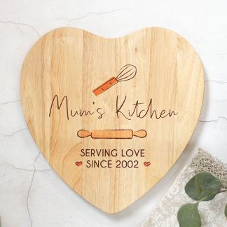 Personalised Mum's Kitchen Chopping Board