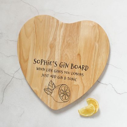 Personalised Gin Board