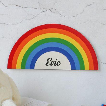 Personalised Rainbow Sign
