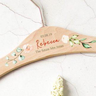 Personalised Wedding Hanger