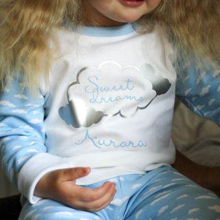 Personalised Pyjamas, Sweet Dreams