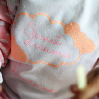 Personalised Cloud Pyjamas, Sweet Dreams