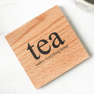 Oak Coaster, Tea