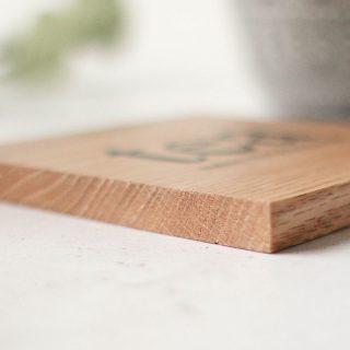 Oak Coaster, Tea