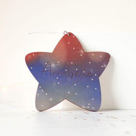 Personalised Star, Night Sky