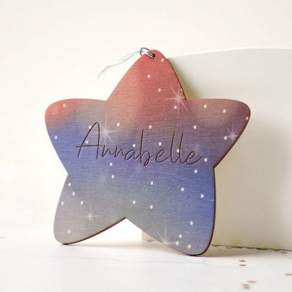 Personalised Star, Night Sky