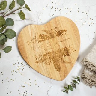 Personalised Chopping Board, Palm Print