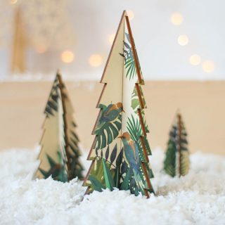 Christmas Tree Set, Palm Design
