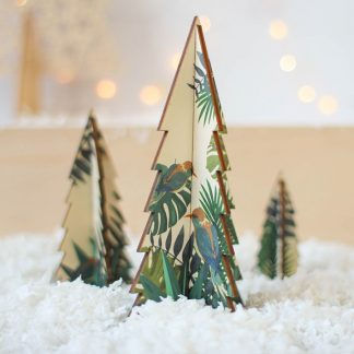 Christmas Tree Set, Palm Design
