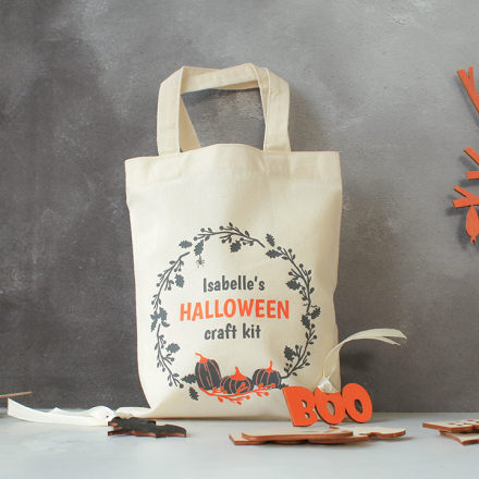 Personalised Halloween Decoration Craft Kit