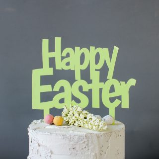 Happy Easter Cake Topper EARFCK001UV