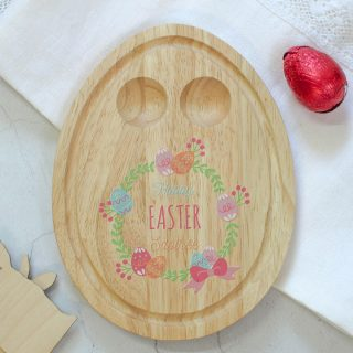 Personalised Easter Wreath Egg Board EARFPTB004UV
