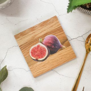 Oak Coaster, Fig Design RFCOUV002