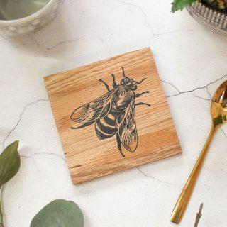 Oak Coaster, Bee Design RFCOUV006
