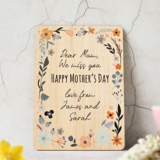 Personalised Mothers Day Card RFPCD007UV