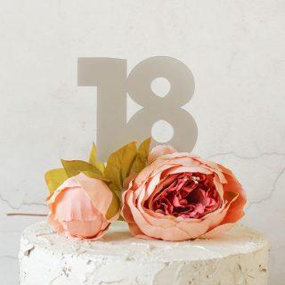 18th Birthday Cake Topper RFCK00218