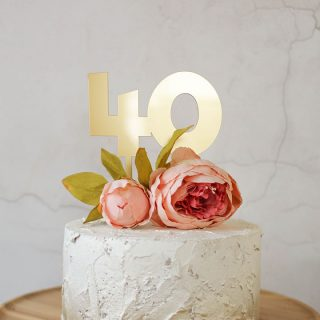 40th Birthday Cake Topper RFCK00240