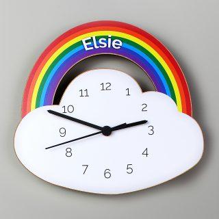 Personalised Rainbow Clock PMCP071168