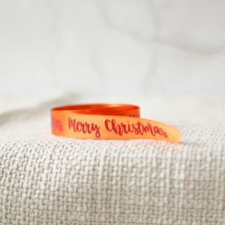 Merry Christmas Ribbon, Jolly 15mm JLXMRFRI002