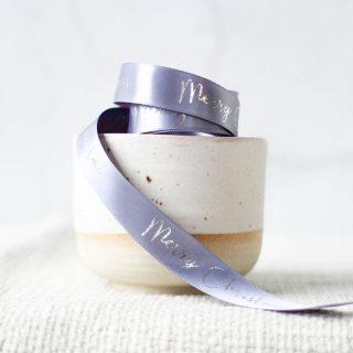 Merry Christmas Ribbon, Traditional 15mm JLXMRFRI003