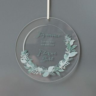 Personalised Thank You Hanging Decoration RFPHA003UV