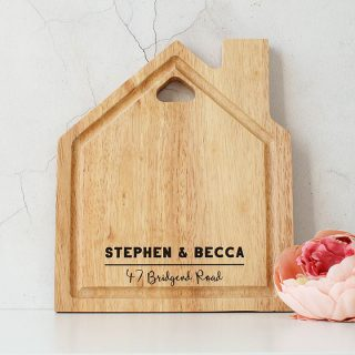 Personalised House Chopping Board RFPTB005UV