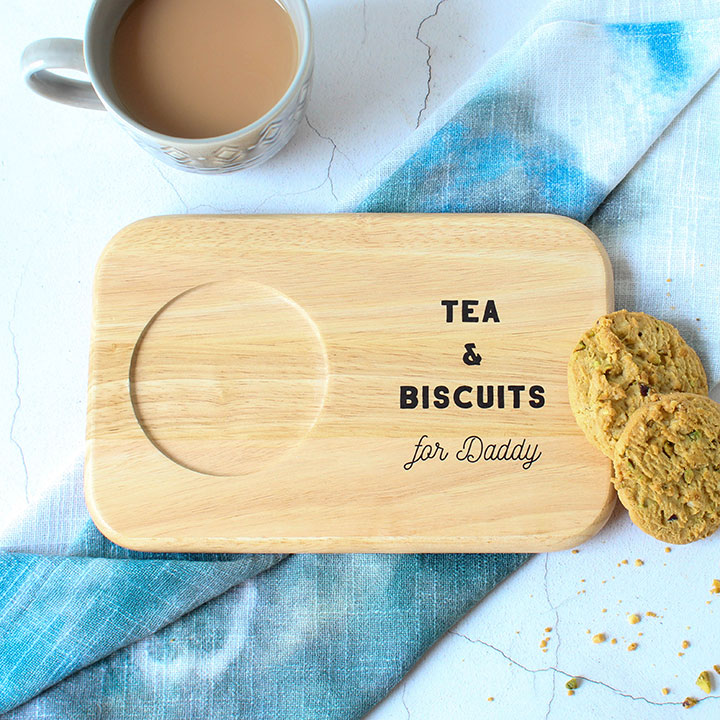 Personalised Tea And Biscuit Coaster RFPTB007UV