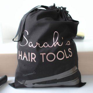 Personalised Bag For Hair Tools RFPST005