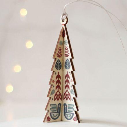 Christmas Tree Decoration, Folk Tree XMRFHA008